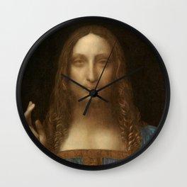 Price Slashed on 450M Leonardo da Vinci Salvator Mundi Wall Clock