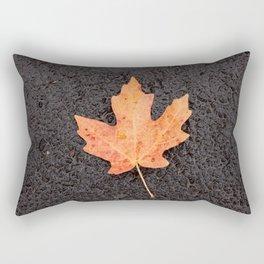 Maple Leaf Photography Print Rectangular Pillow