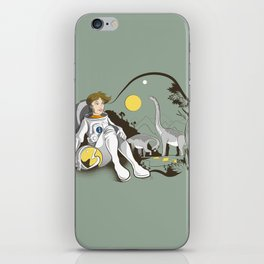 The Time Traveler iPhone Skin