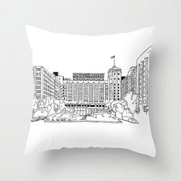 Ponce City Market- ATL Throw Pillow