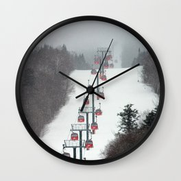 Gondolas Wall Clock