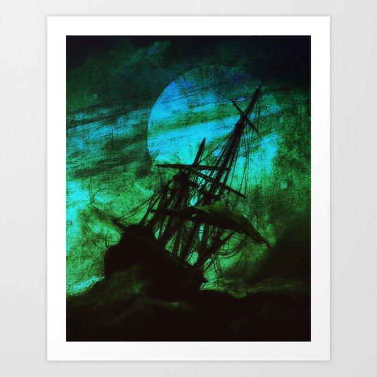 STORMRIDER Art Print