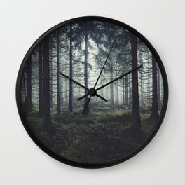 Through The Trees Wall Clock