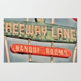 Freeway Lanes Bowl - Selma, CA Rug