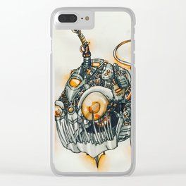 anglerfish Clear iPhone Case