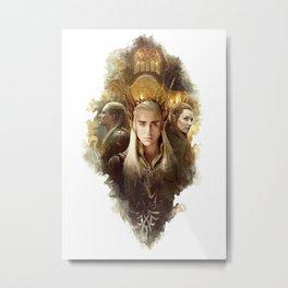 Wood-elves Metal Print