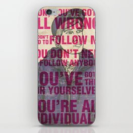 Individuals iPhone Skin