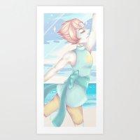 Pearl Steven Universe Art Print