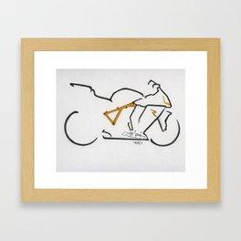 KTM 1190R Framed Art Print