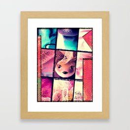 Sweet Doll Framed Art Print