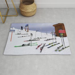 Skiers can't read ;o) Rug