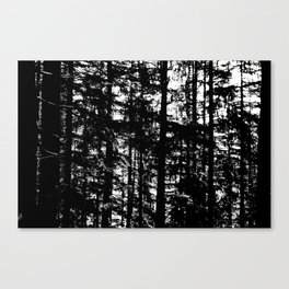 straight Canvas Print
