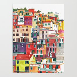 Cinque Terre Poster