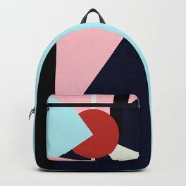 Circle Series - Red Circle No. 4 Backpack