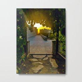 The Gateway to Life Metal Print