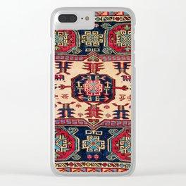 Shahsavan Moghan Southeast Caucasus Bag Face Clear iPhone Case