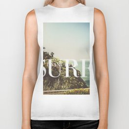 I want to go surfing Biker Tank