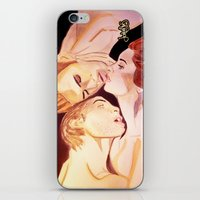 the vampire diaries iPhone & iPod Skins featuring The Vampire Diaries  by Jonboistars
