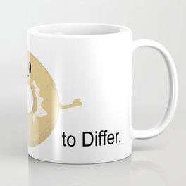 I Bagel to Differ Coffee Mug