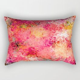 Floral Explosion Rectangular Pillow