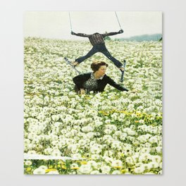 The Hills Are Skiing with the Sound of Music Canvas Print
