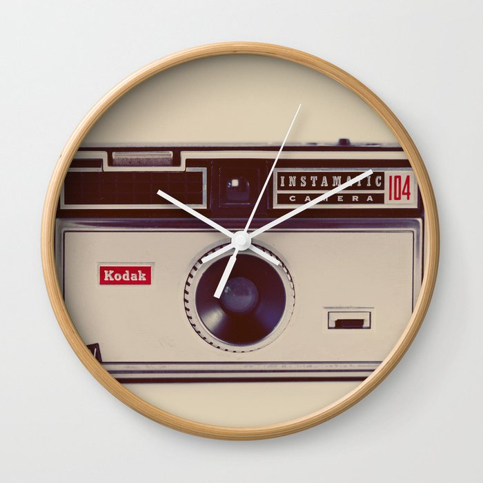 Instamatic Wall Clock