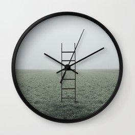 Ladders Wall Clock