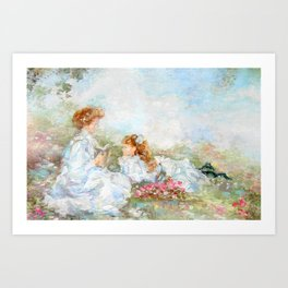 Mothers Memories Art Print