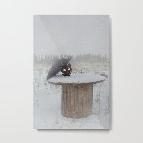 Winter Adventures Metal Print