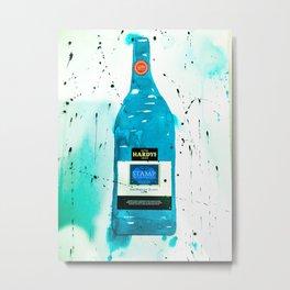 """Hardys Sauvignon Blanc II"" Metal Print"