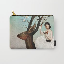 The Wandering Forest Carry-All Pouch