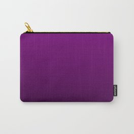 Zombie Purple and Black Deadly Ombre Nightshade Carry-All Pouch