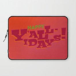 Happy Y'allidays Laptop Sleeve