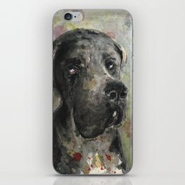 Esra Great Dane iPhone Skin