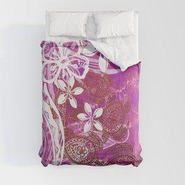 Hawaiian - Samoan - Polynesian Lava Ocean Honu Tribal Comforters