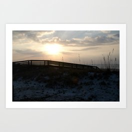 Alabama Sunrise Art Print