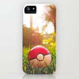 Pokeball iPhone Case