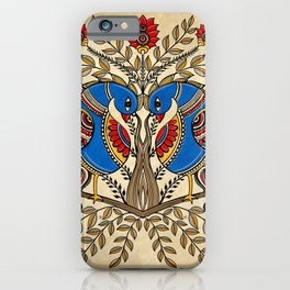 The Gemini peacock  iPhone Case