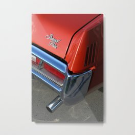 PONTIAC Grand Prix Red Metal Print