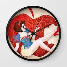 Poison (ScarlettSparrow Cosplay) Wall Clock