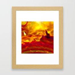 The Red Planet. Framed Art Print