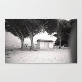Indonesian island Canvas Print