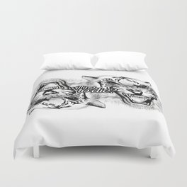 Willing to die? Duvet Cover