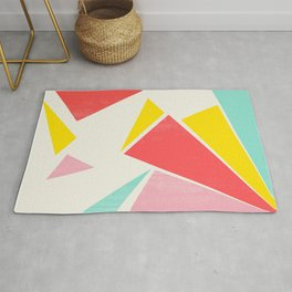 Shattered Rays Rug