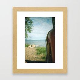 Lifesaver Framed Art Print