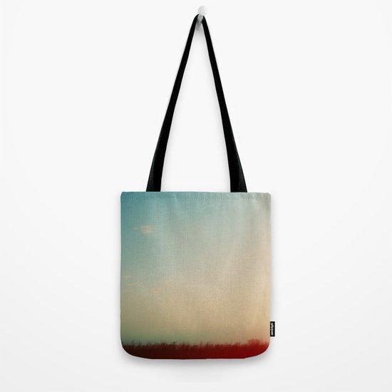 Rainbow Haze Tote Bag