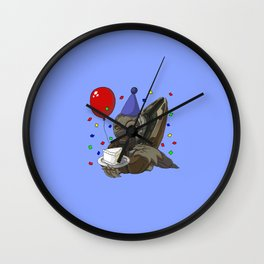 Grunt Birthday Party! Wall Clock