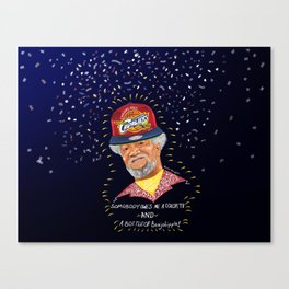 The Classic Television Basketball Champion Canvas Print