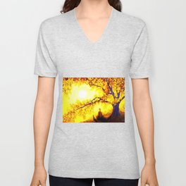 Bless the lord oh my soul and all that is within me Unisex V-Neck