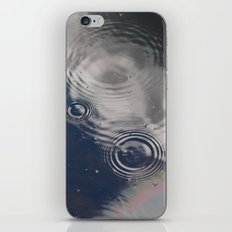 A Cloudy Rainy Day iPhone Skin